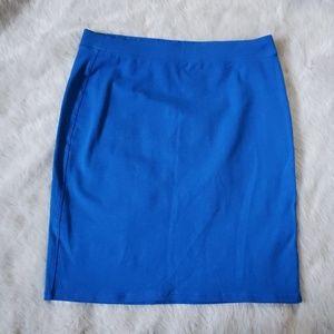 NWOT Old Navy Blue Skirt